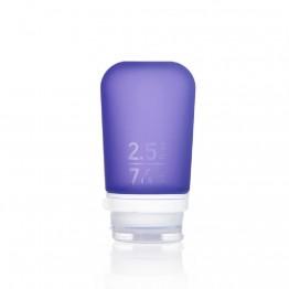 Силіконова пляшечка Humangear GoToob + Medium фіолетова