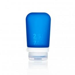 Силіконова пляшечка Humangear GoToob + Medium темно-синя