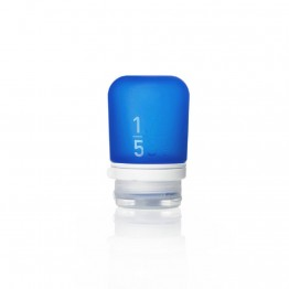 Силиконовая бутылочка Humangear GoToob+ Small темно-синяя