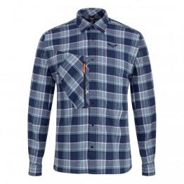 Рубашка Salewa Fanes Flannel 4 Polarlite Mns мужская синяя