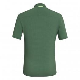 Сорочка Salewa Puez Minicheck 2 DRY S/S Shirt Mns чоловіча зелена