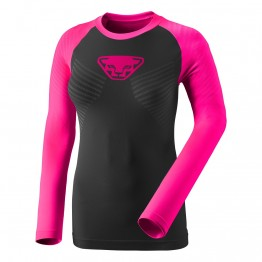 Термофутболка Dynafit Speed Dryarn Wms L/S Tee женская темно-розовая