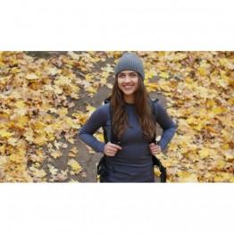 Термофутболка Turbat Versa Top Wmn жіноча сіра