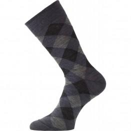 Термошкарпетки Lasting WPK сірі/сині