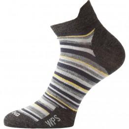Термошкарпетки Lasting WPS сірі/бежеві