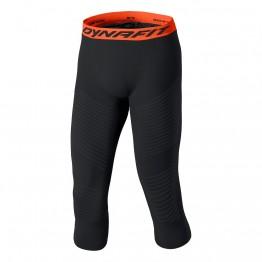 Термоштаны Dynafit Speed Dryarn 3/4 Mns Tights мужские черные/оранжевые