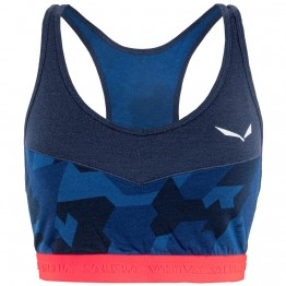 Топ Salewa Cristallo Sport Wms женский синий
